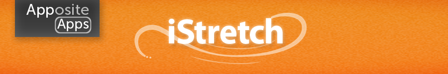 iStretch - Office Yoga Stretch Excercise Video App for the Apple iPhone & iPod Touch iOS